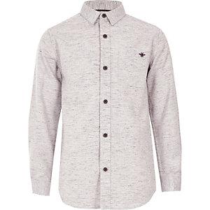Pinkes Langarmhemd