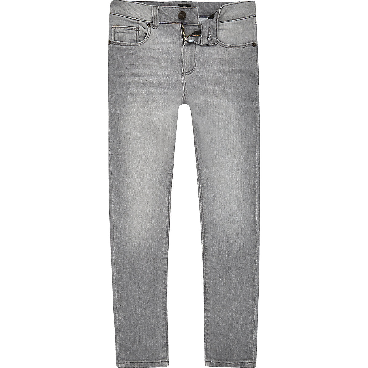Boys grey Danny super skinny jeans