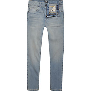 Boys light blue Danny super skinny jeans
