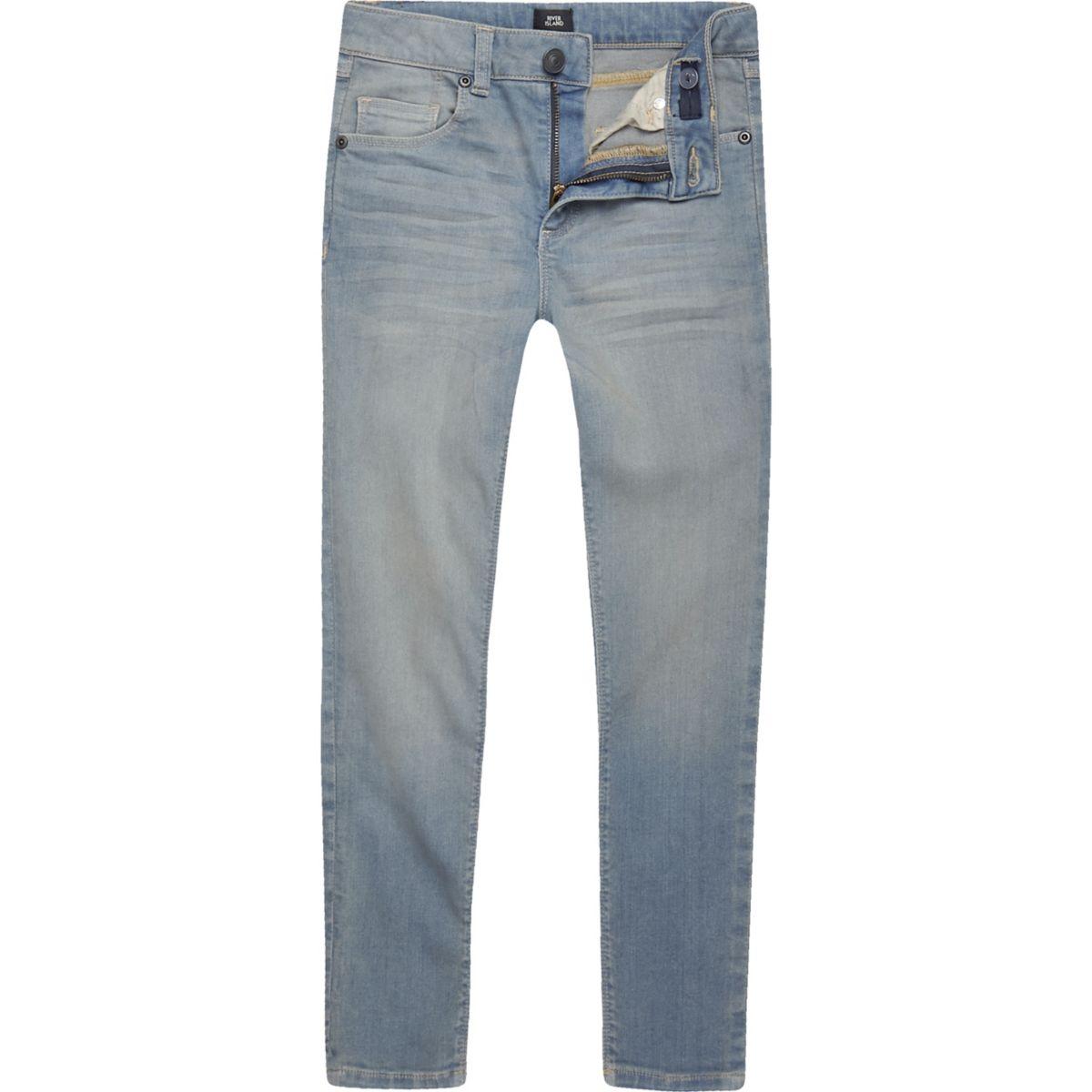 Boys light blue Danny super skinny jeans