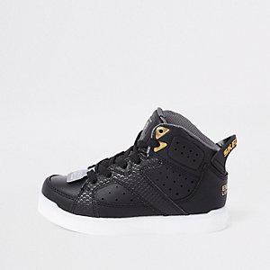 Skechers - Zwarte sneakers met lampjes