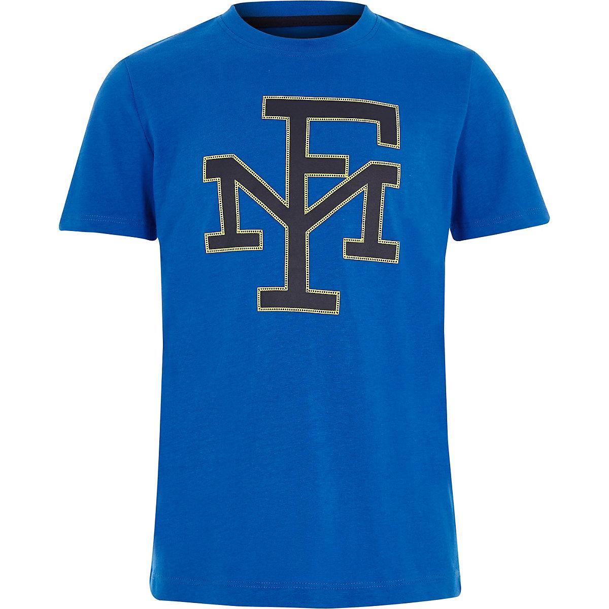 Franklin & Marshall – T-shirt bleu pour garçon