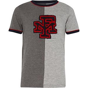 Franklin & Marshall – T-shirt gris pour garçon