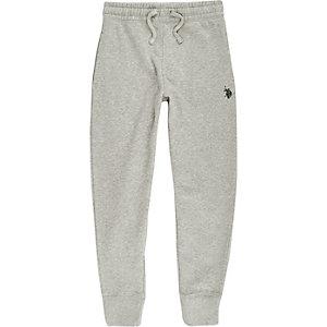 Pantalon de jogging U.S. Polo Assn. gris pour garçon