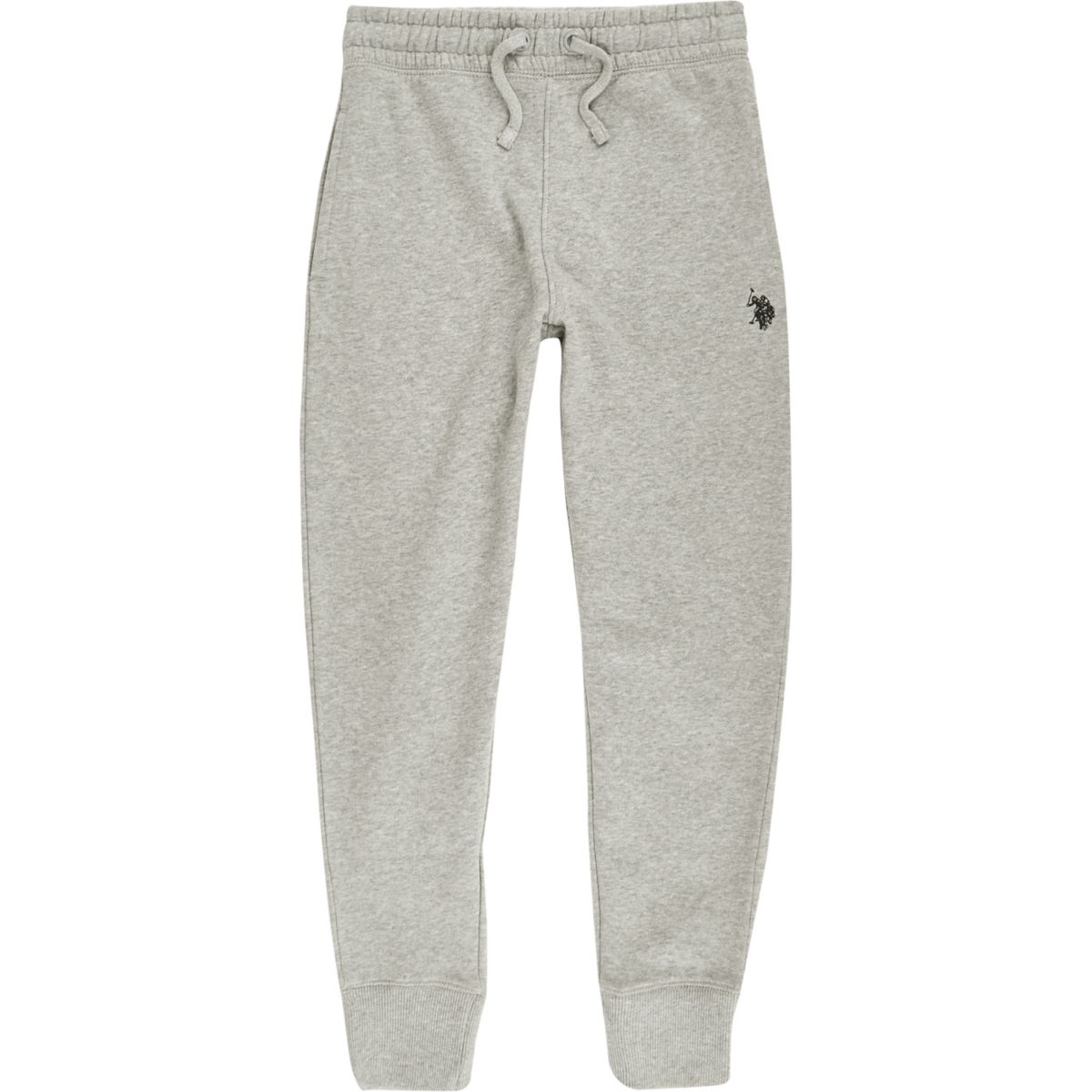 Boys U.S. Polo Assn. grey joggers