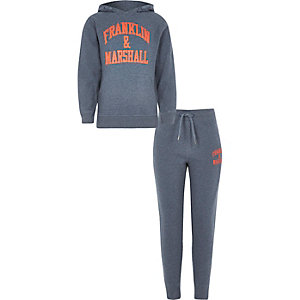 Boys Franklin & Marshall jogger outfit