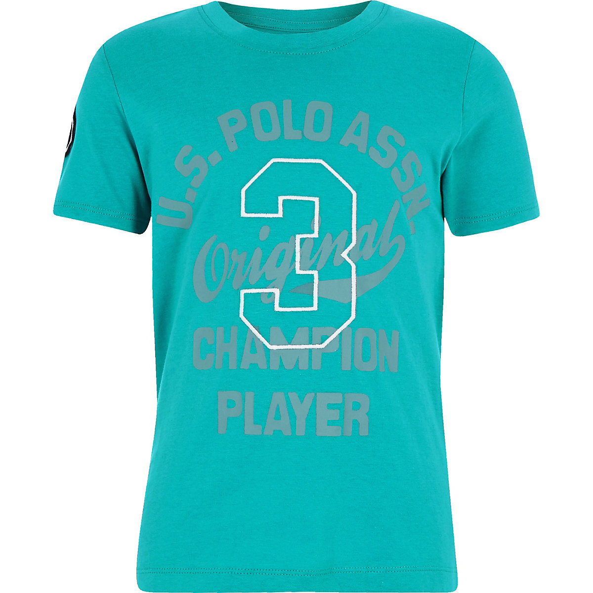 Boys U.S. Polo Assn. blue T-shirt