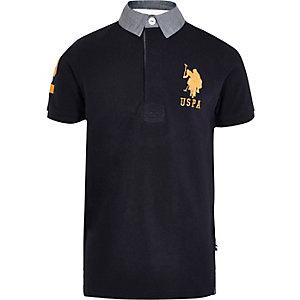 U.S. Polo Assn. – Marineblaues Polohemd
