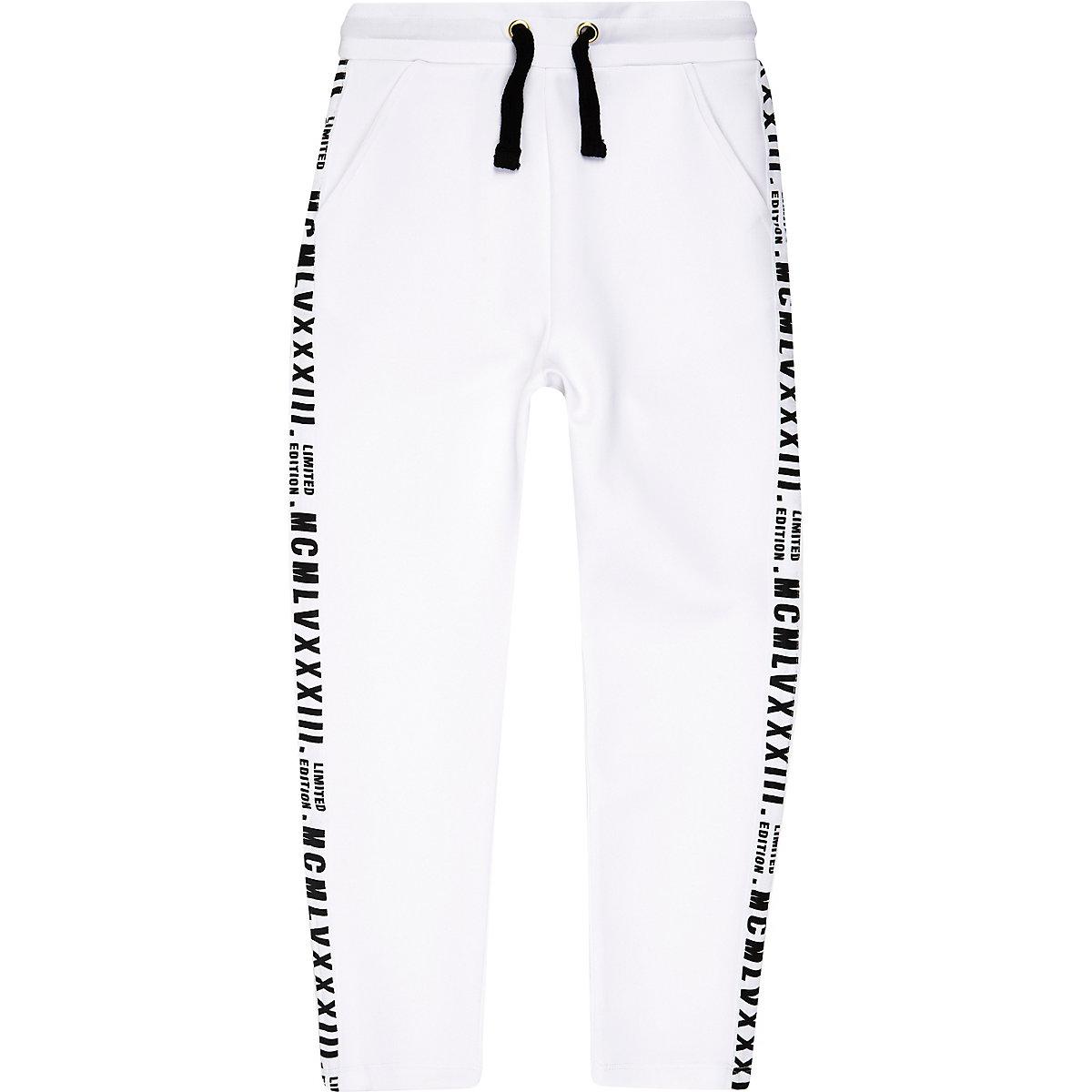 "Weiße Jogginghose ""limited Edition"""