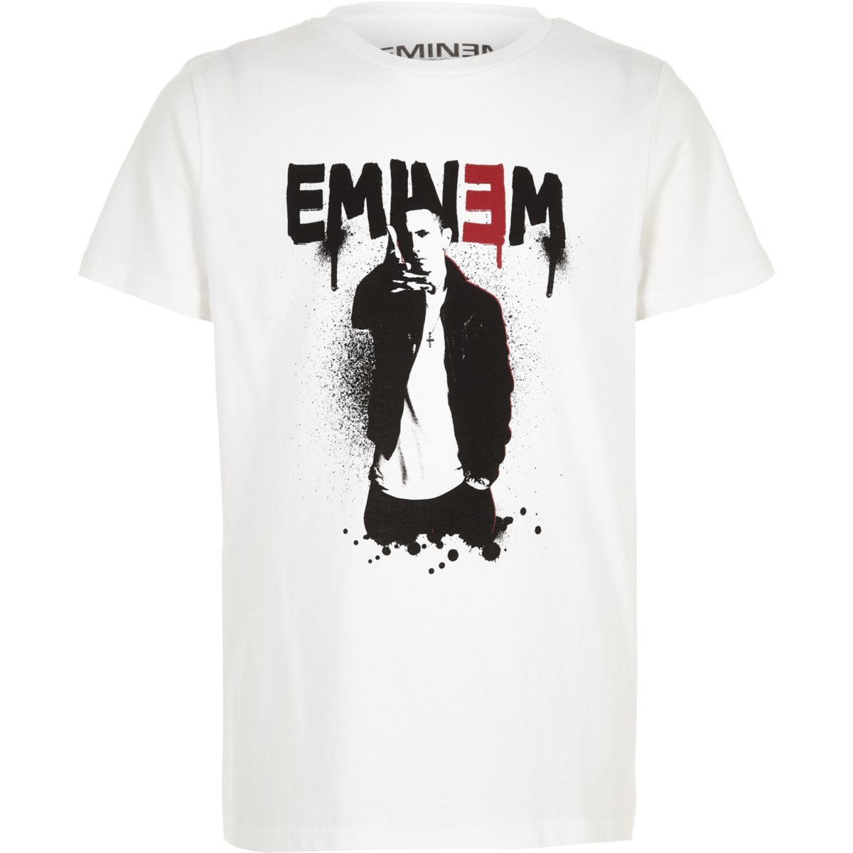 Boys white 'Eminem' T-shirt
