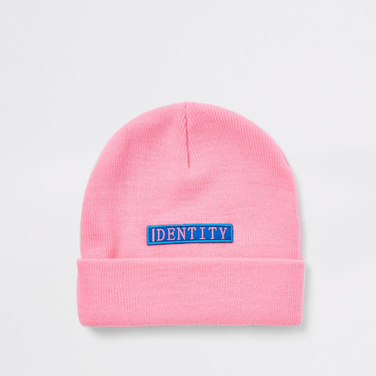 Be Inclusive pink 'Identity' beanie hat