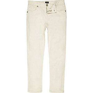 Dylan - Witte slim-fit skinny jeans voor jongens