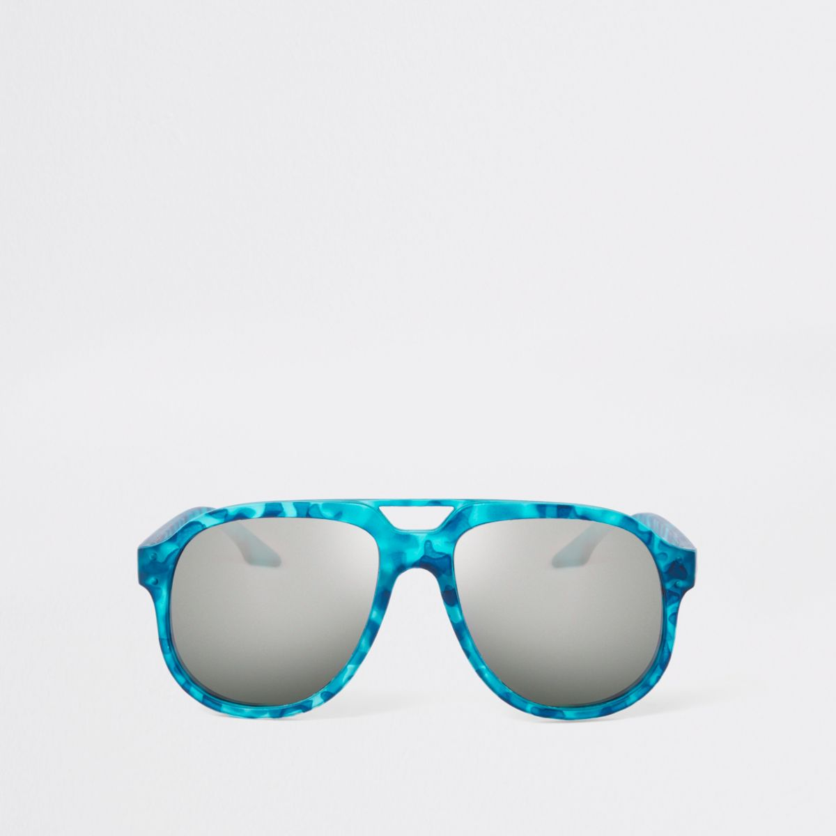 Boys blue camo sunglasses