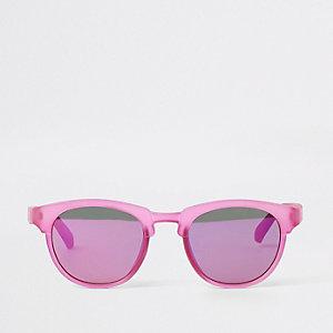 Mini - Paarse zonnebril met platte bovenkant voor meisjes