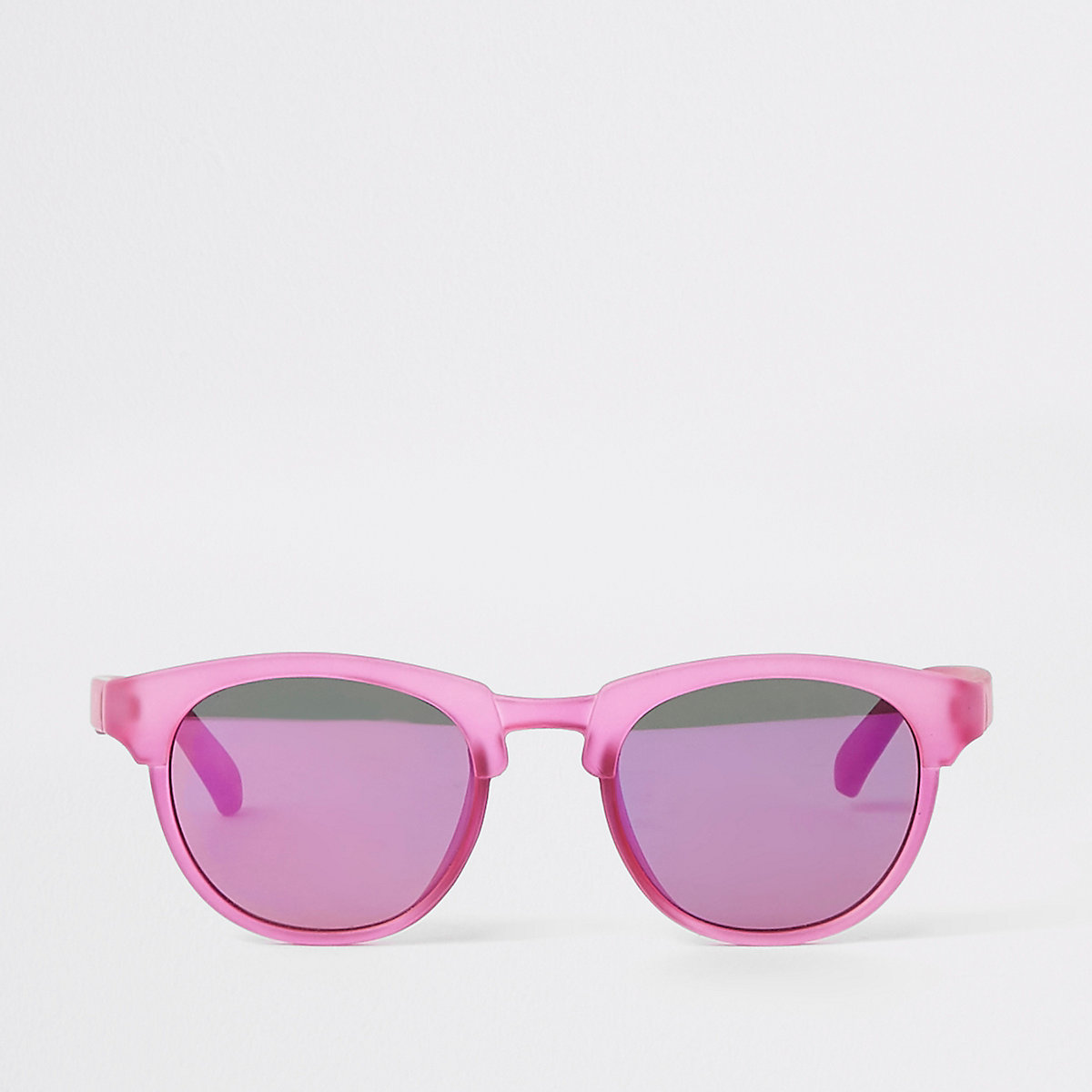 Mini girls purple flat top sunglasses