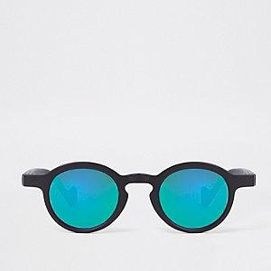 Mini - Ronde zonnebril met revo lens voor jongens