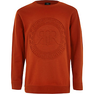 Oranges Sweatshirt mit RI-Print