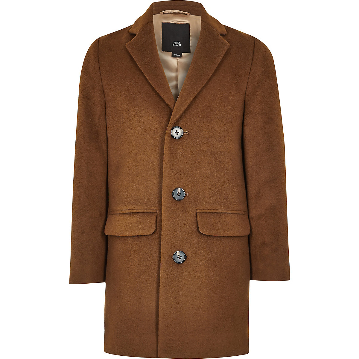 Brauner, klassischer Mantel