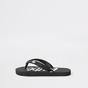 Hype – Schwarze Flip Flops