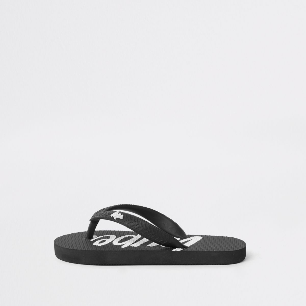 Boys Hype black flip flops
