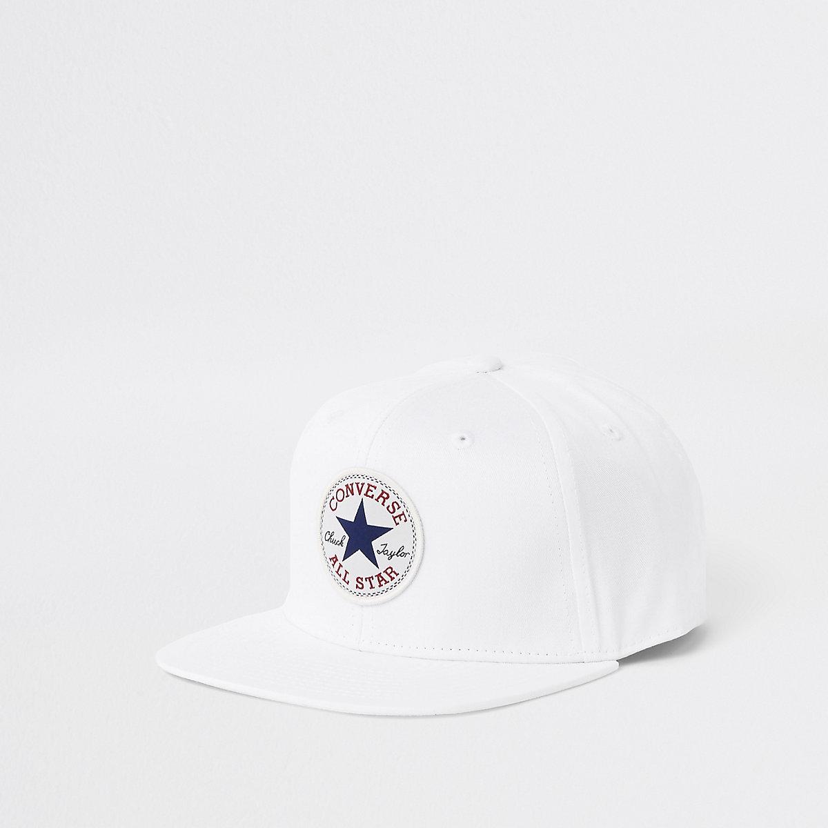 Converse – Casquette de baseball blanche pour garçon