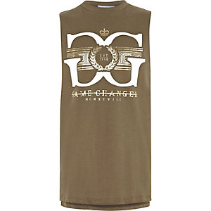 Boys khaki 'game changer' tank