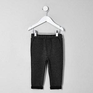 Pantalon gris chiné mini garçon