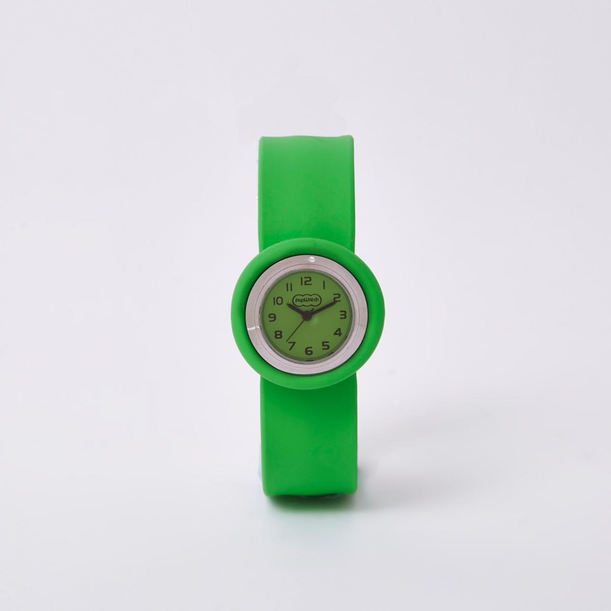 Bright green popwatch