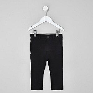 Pantalon skinny noir stretch mini garçon