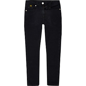 RI 30 boys dark denim Sid skinny jeans