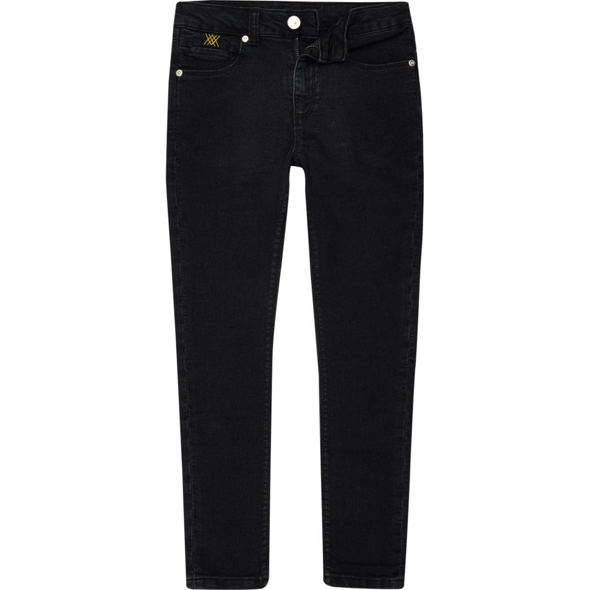 RI 30 boys dark denim Sid skinny jeans