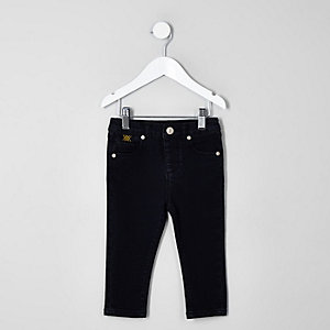 Mini boys dark blue RI 30 Sid skinny jeans