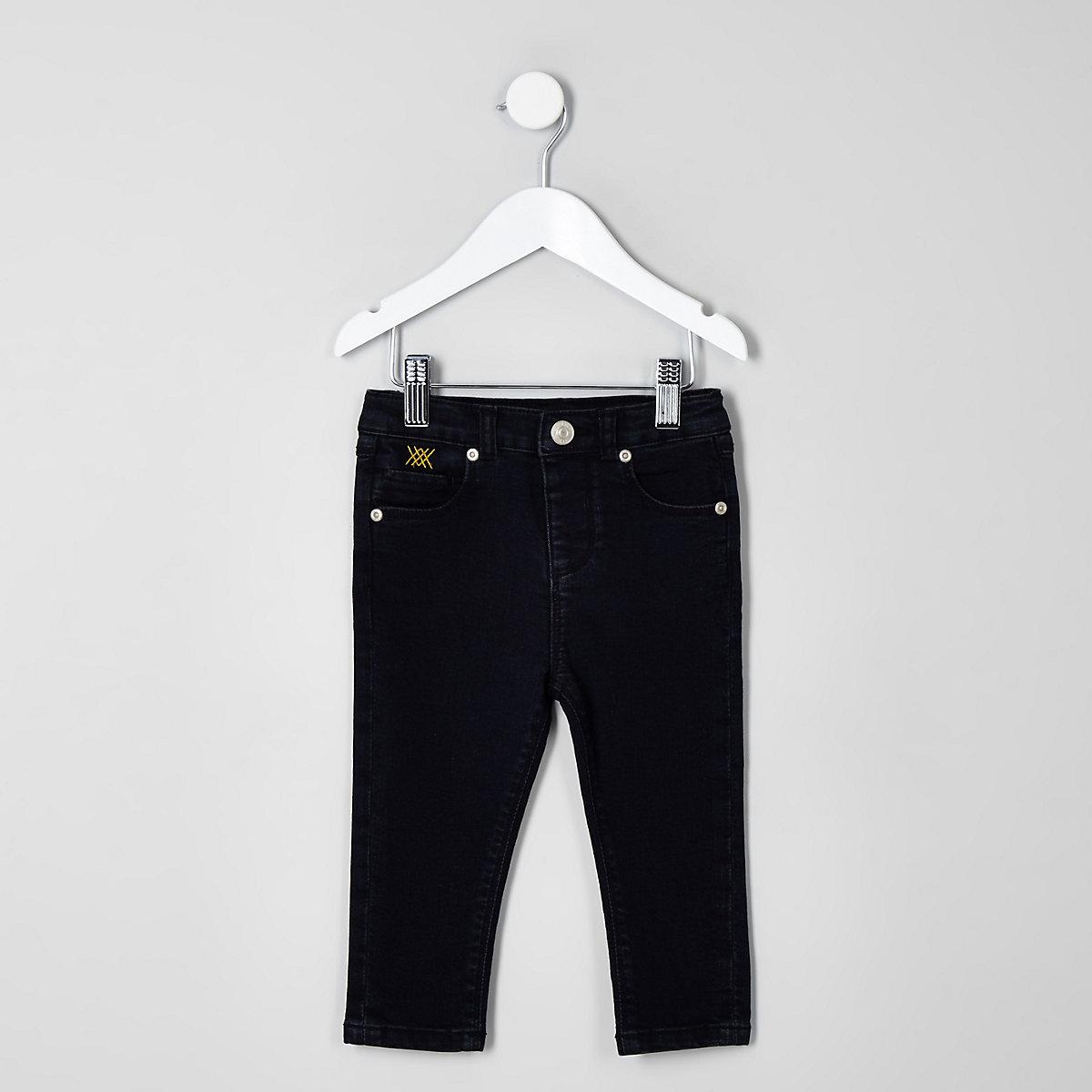 Mini boys dark blue RI 30 Sid skinny jeans