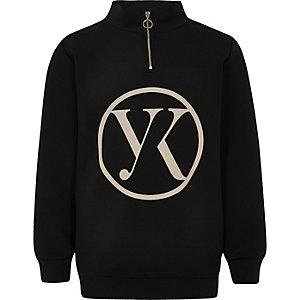 Be inclusive black zip up jumper