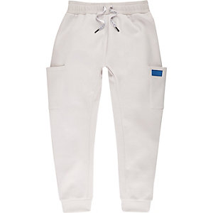 Be Inclusive stone front pocket joggers