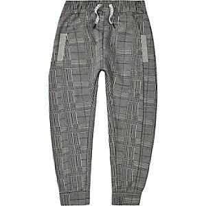 Be Inclusive – Pantalon de jogging à carreaux gris