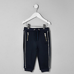 RI 30 mini boys navy panel Jogger