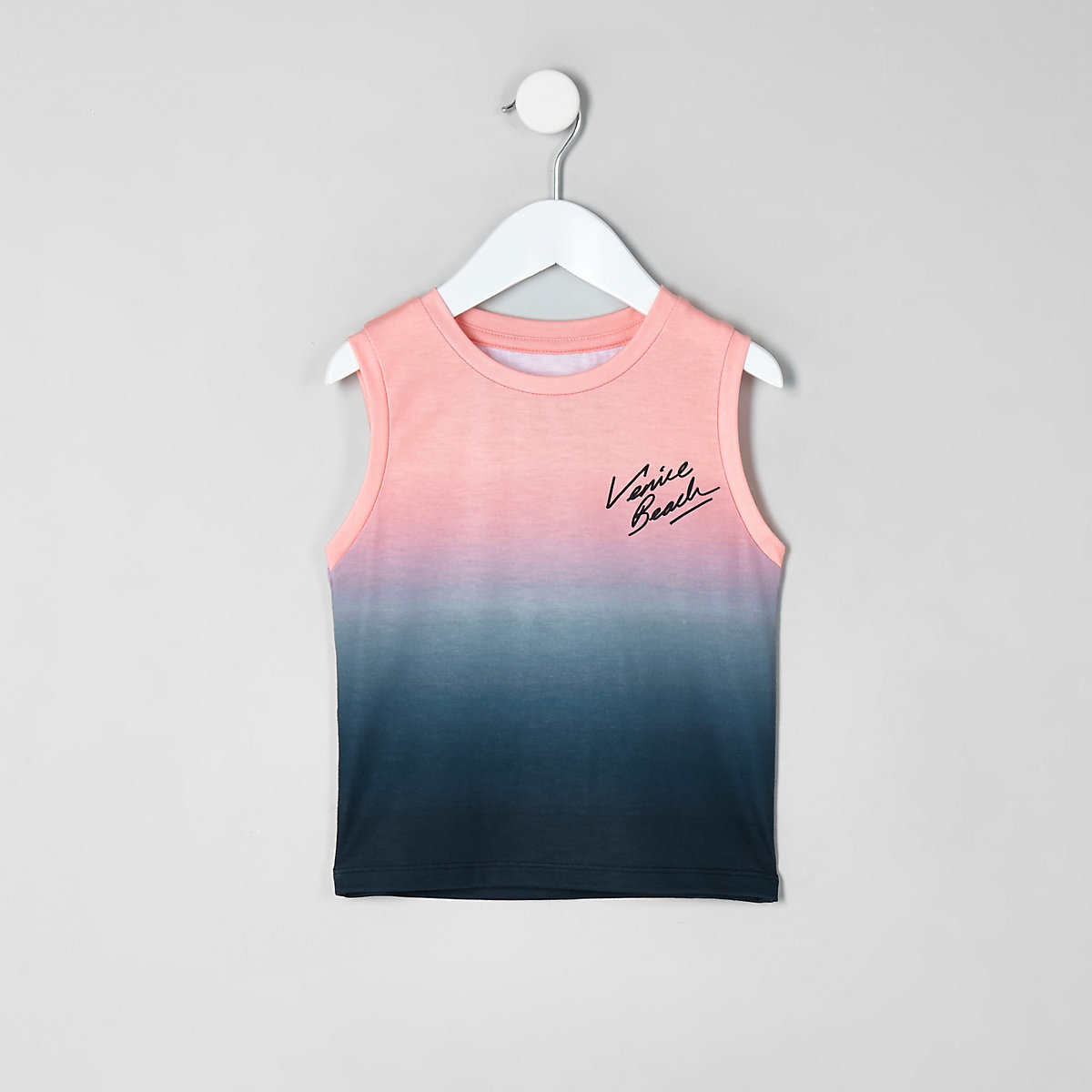 Mini boys fade 'venice beach' tank