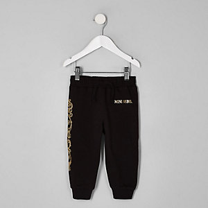 Pantalon de jogging à inscription « Rebel » mini garçon