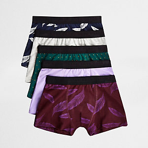 Boxershorts in Lila, Set