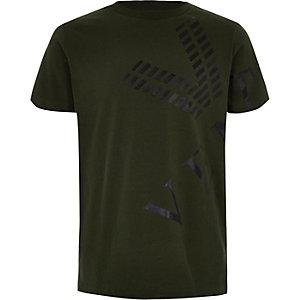 """T-Shirt in Khaki """"venti"""""""