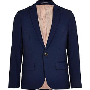 Blauer Anzugsblazer