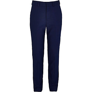 Boys blue suit pants