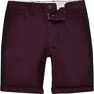 Dylan – Chino-Shorts in Lila