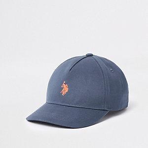 Marineblauwe U.S. Polo Assn.-pet voor jongens