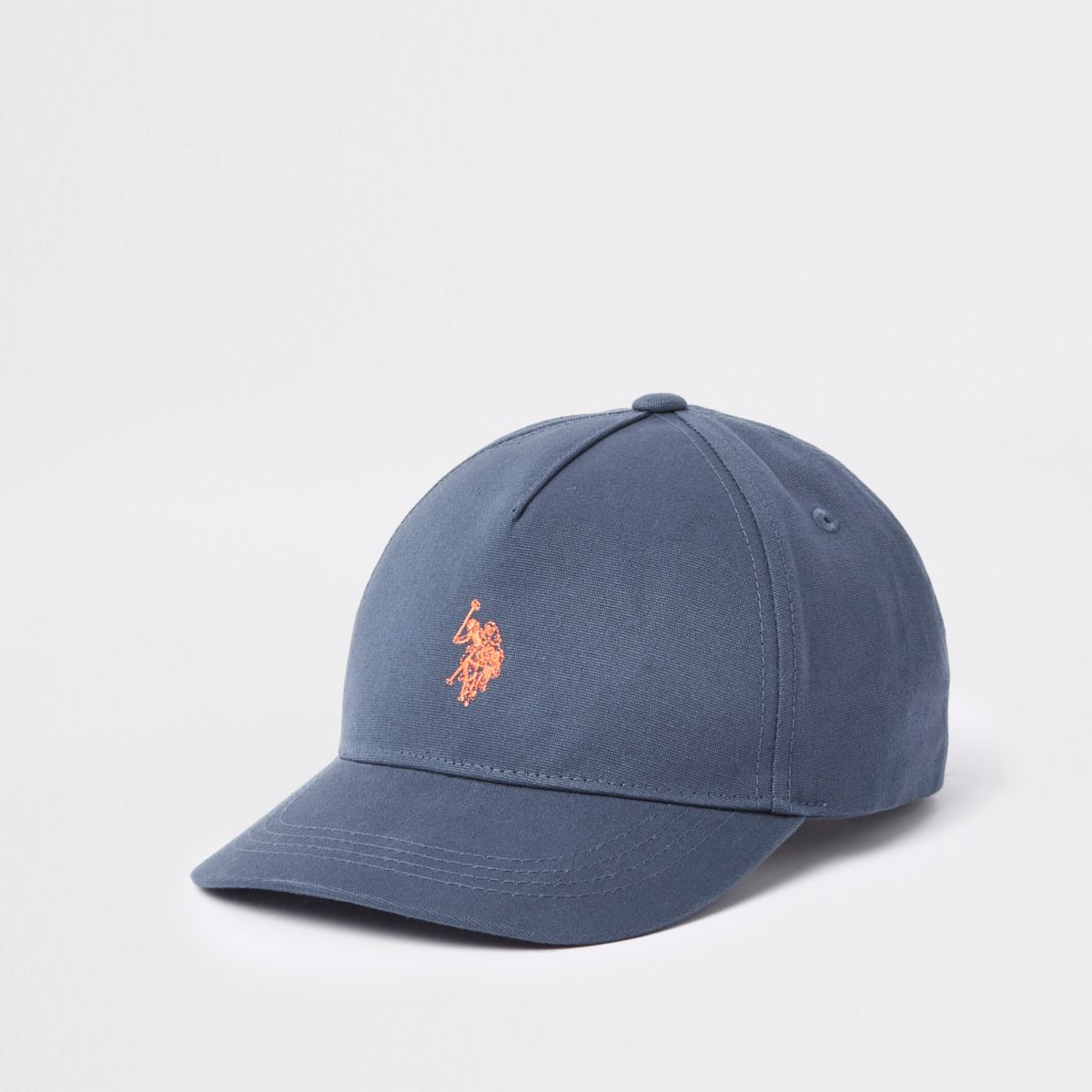 Boys navy U.S. Polo Assn. cap
