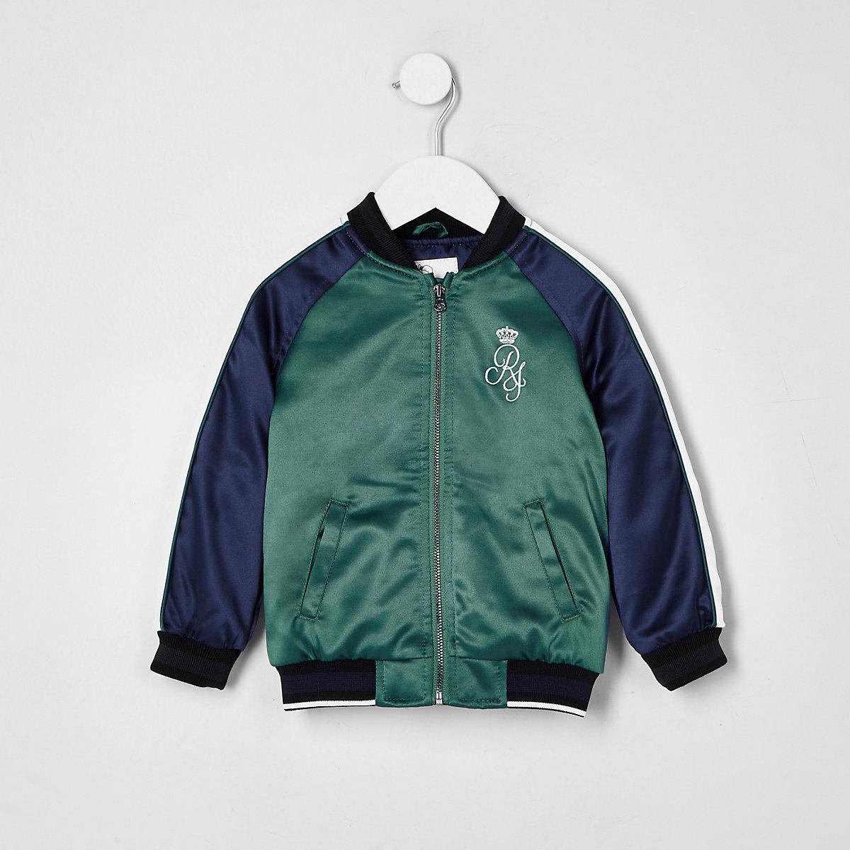 Mini boys navy sport bomber jacket