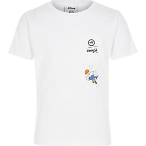 Disney x Hype – Donald Duck – Weißes T-Shirt