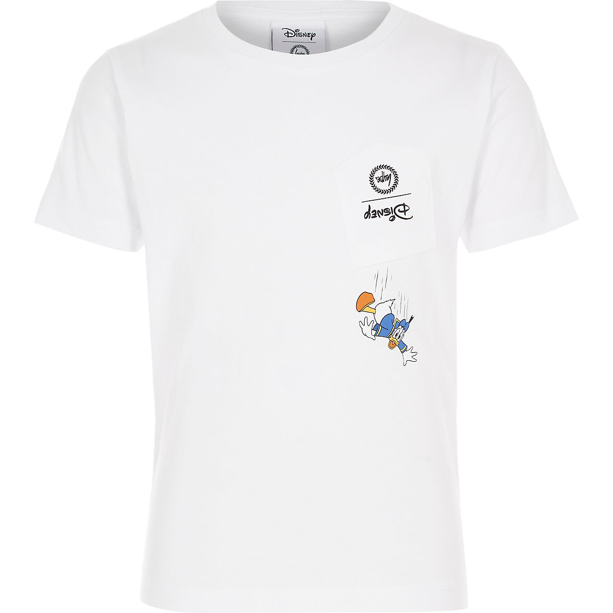 Boys Disney x Hype white donald duck T-shirt