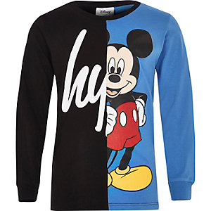 Hype – Disney – Schwarzes T-Shirt
